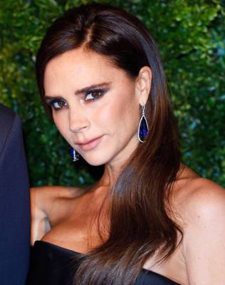 Yes, You Can Bend It Like Victoria Beckham!  Mastering The Glam Side Part.